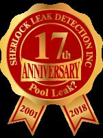l Port Charlotte leak detection service badge