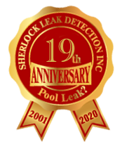 Pool Leak Detection Anniversary Badge Image